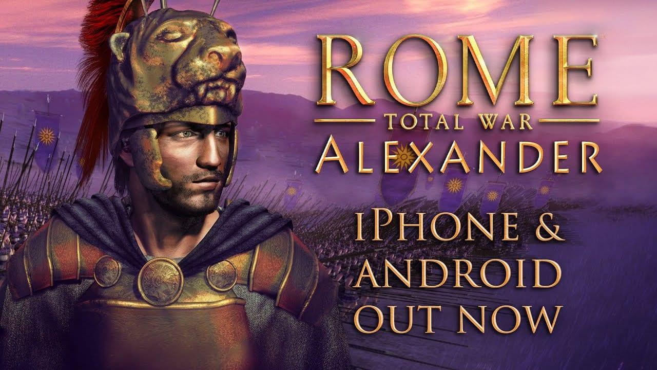 rome, total war, alexander, iphone, ipad