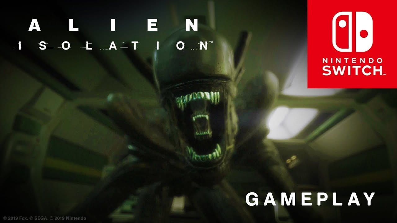 alien isolation, switch, nintendo, gameplay