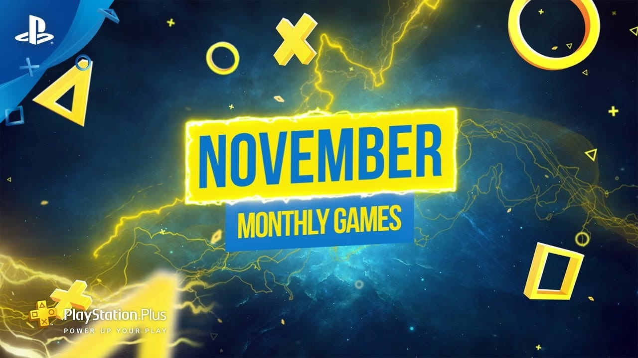 ps plus, playstation plus, November