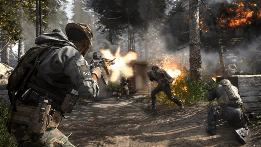 modern warfare, how many players, splitscreen multiplayer