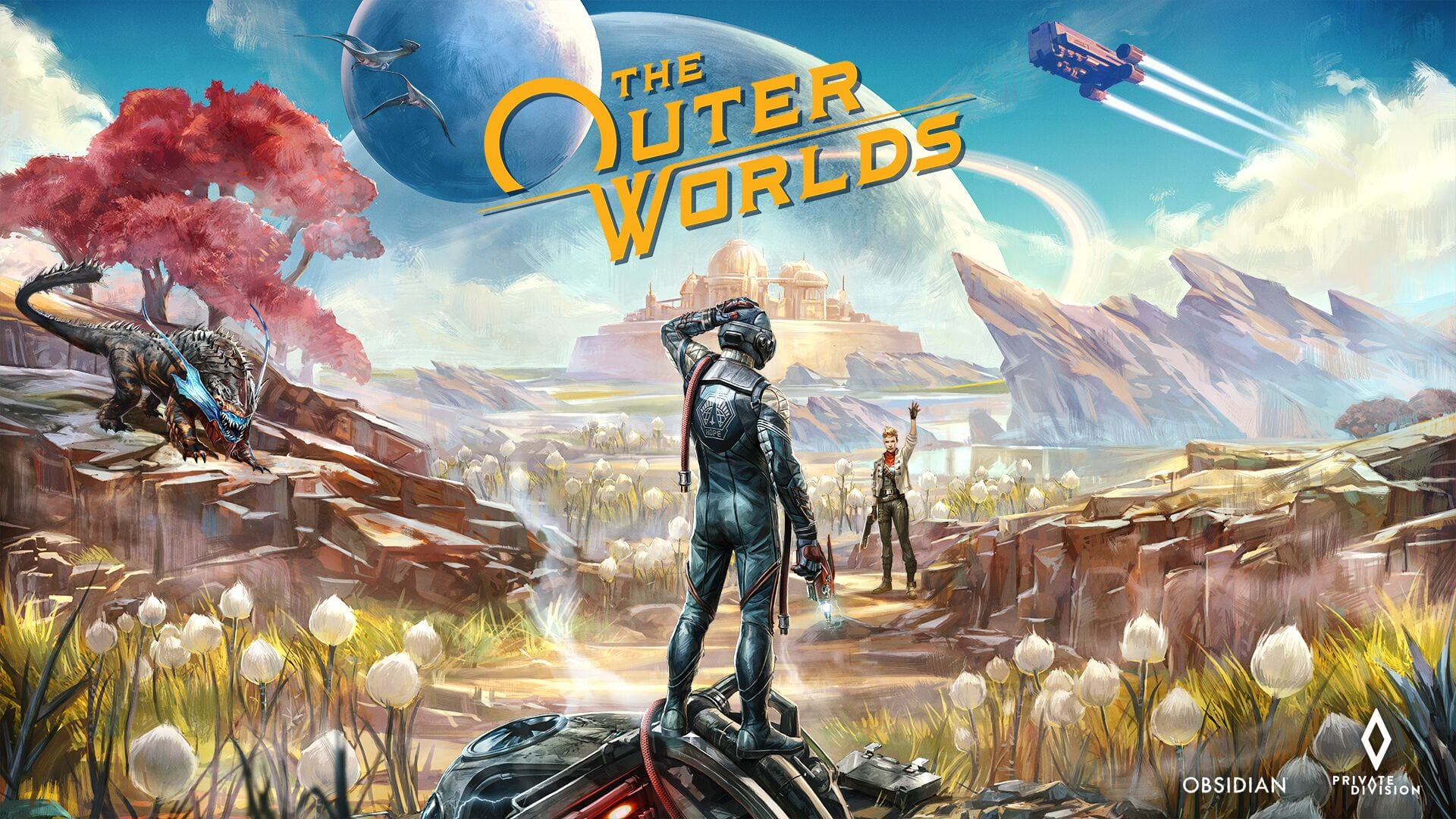 the outer worlds, the frightened engineer, thomas