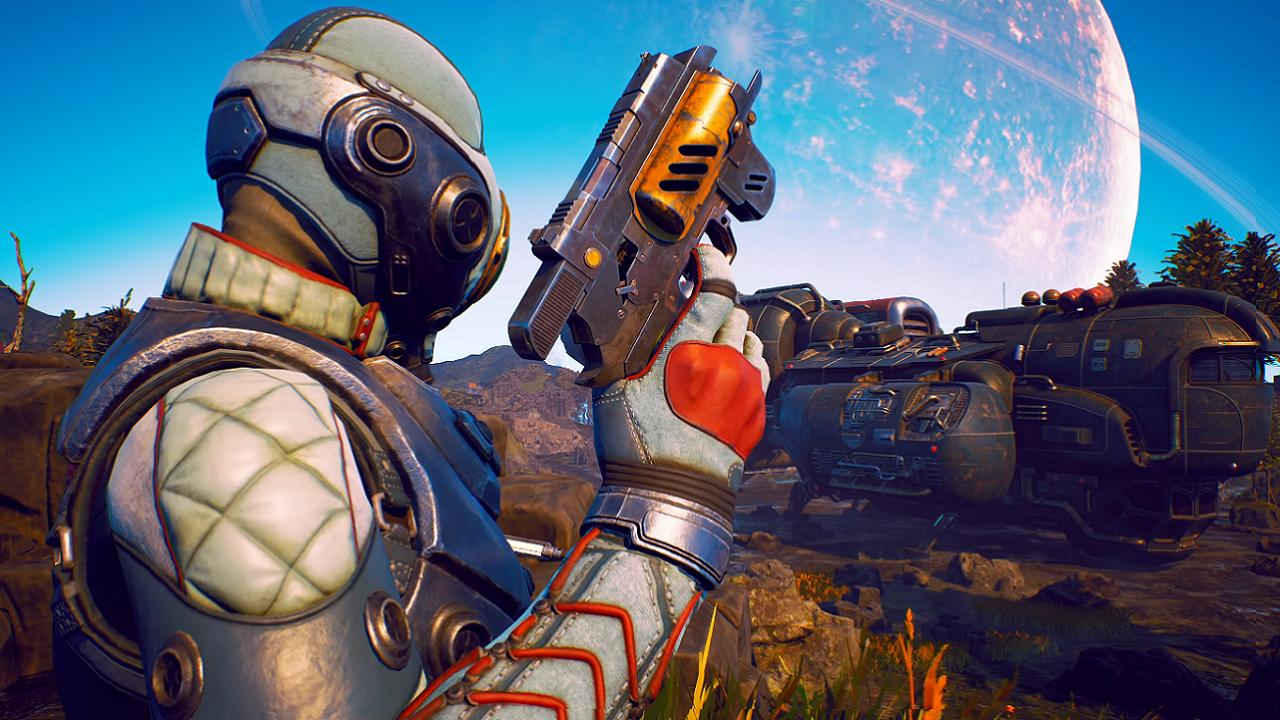 outer worlds, holographic shroud