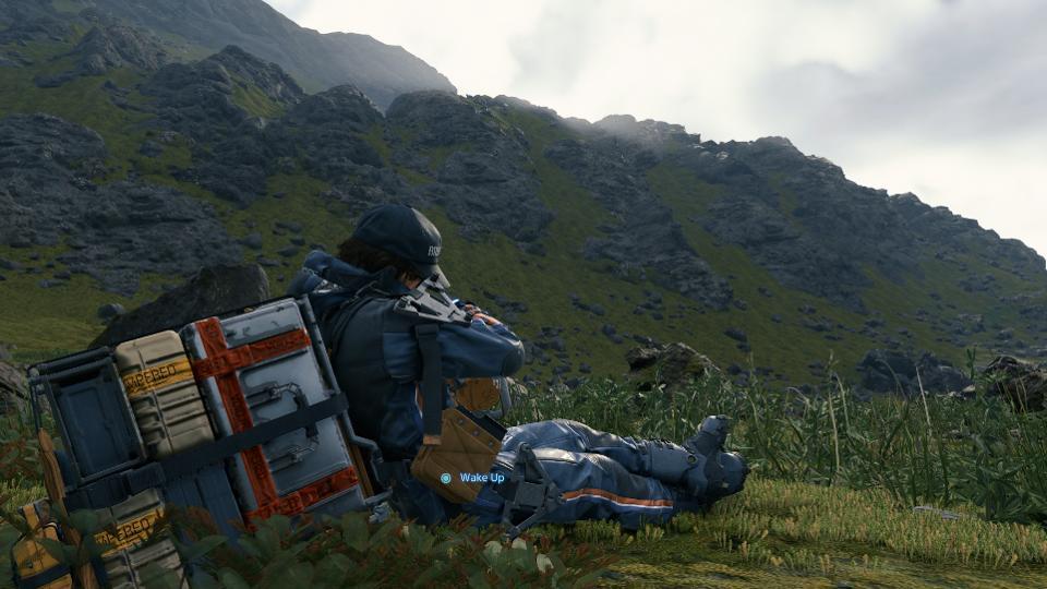 death stranding, backpack