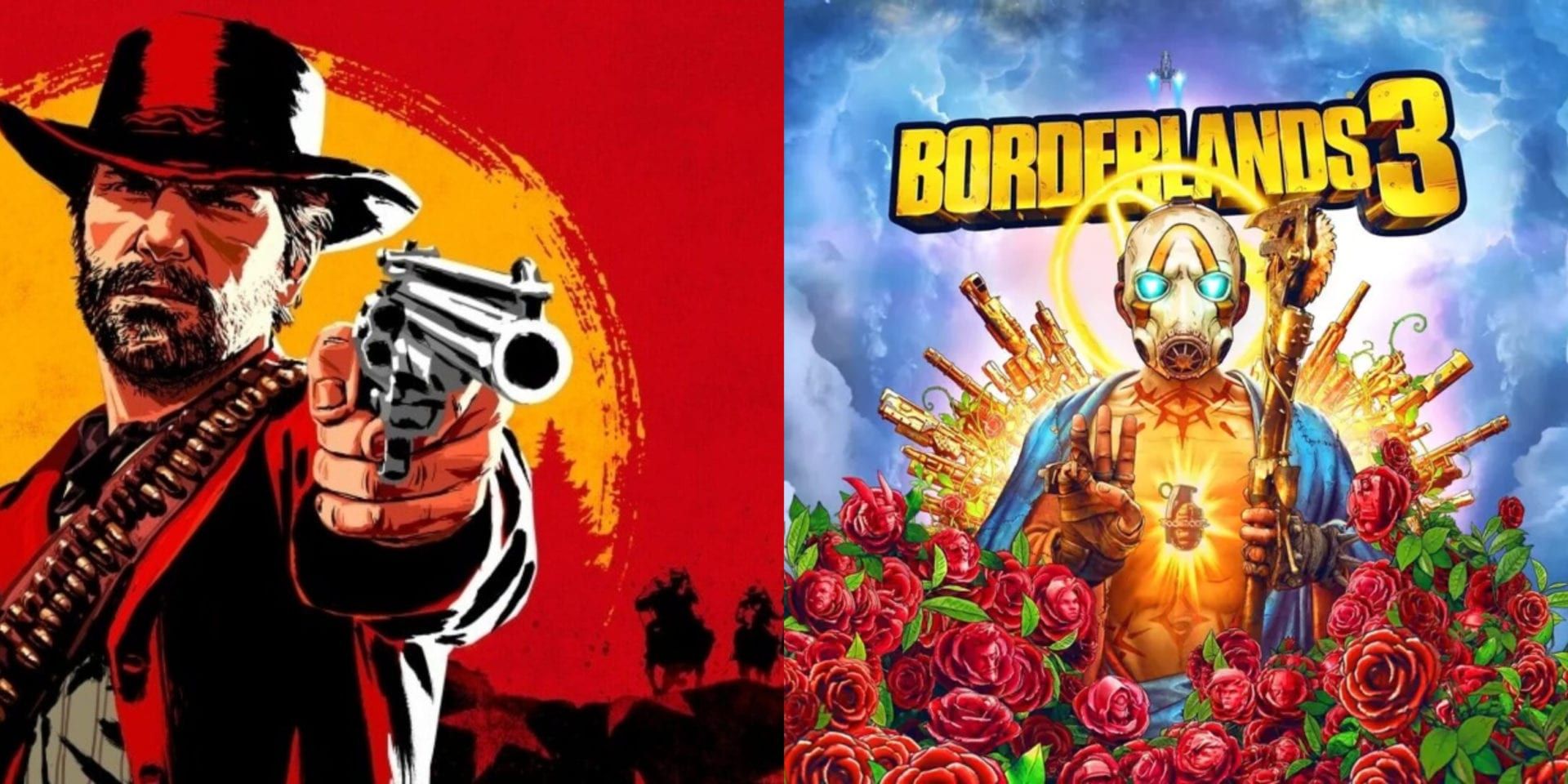 borderlands 3 red dead redemption 2, sales, take-two