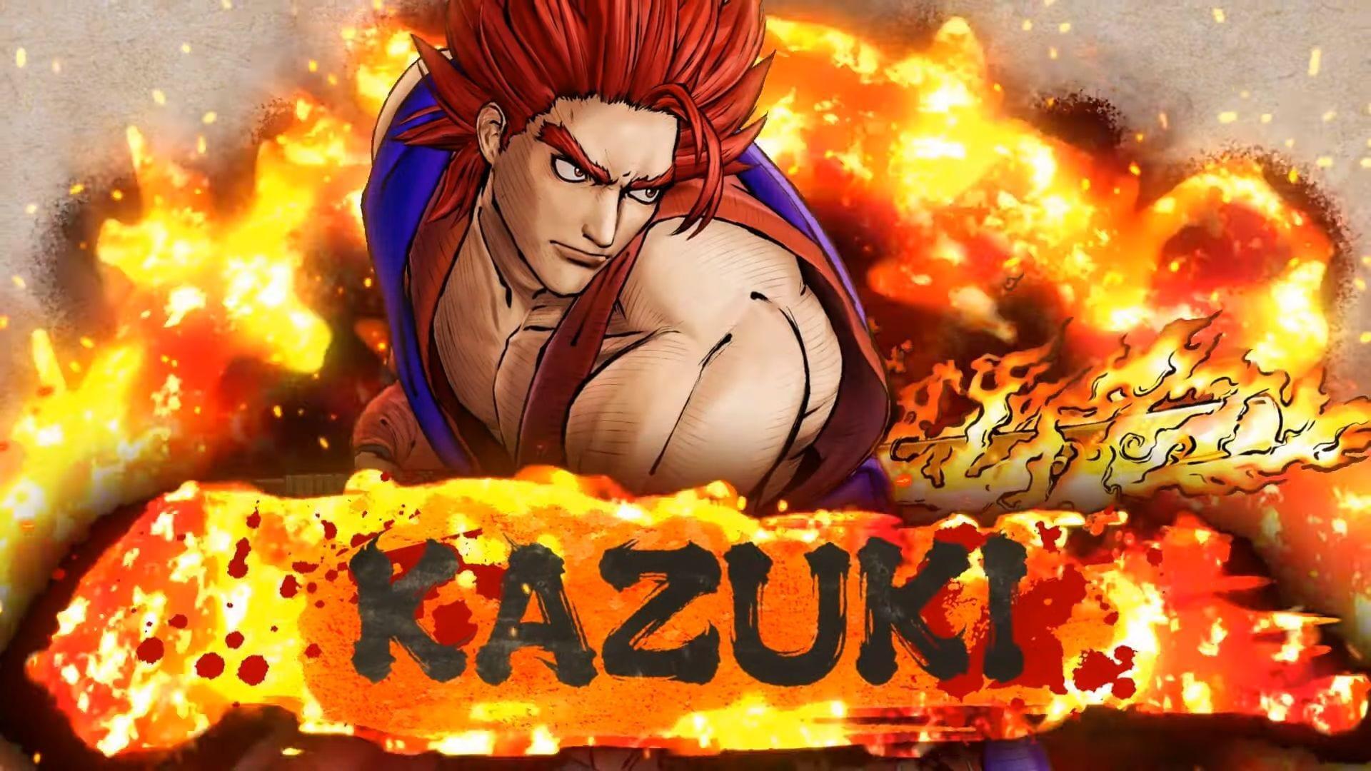 Samurai Shodown Kazuki Kazama