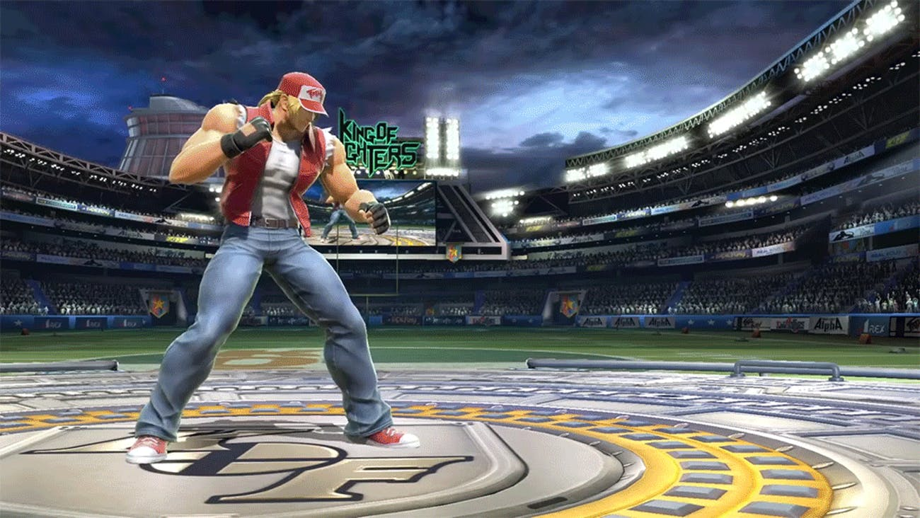 Smash Ultimate Terry Bogard
