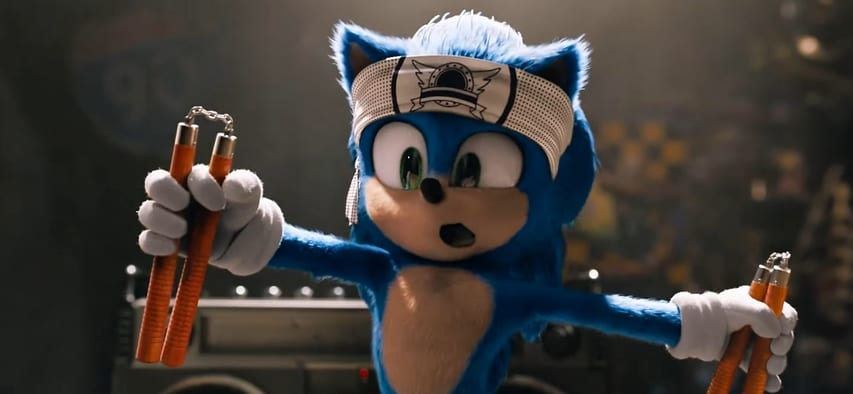 Twitter, fan reactions, reddit, sonic the hedgehog, live-action, redesign, new look