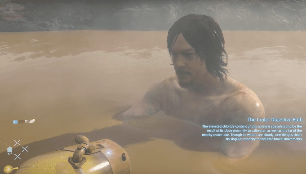 Death Stranding, Where to Find Hot Spring (Soak and Sigh Trophy)