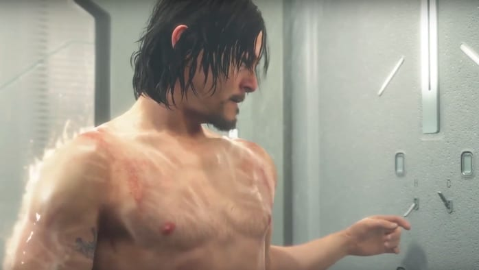 Death Stranding, How to Take a Shower