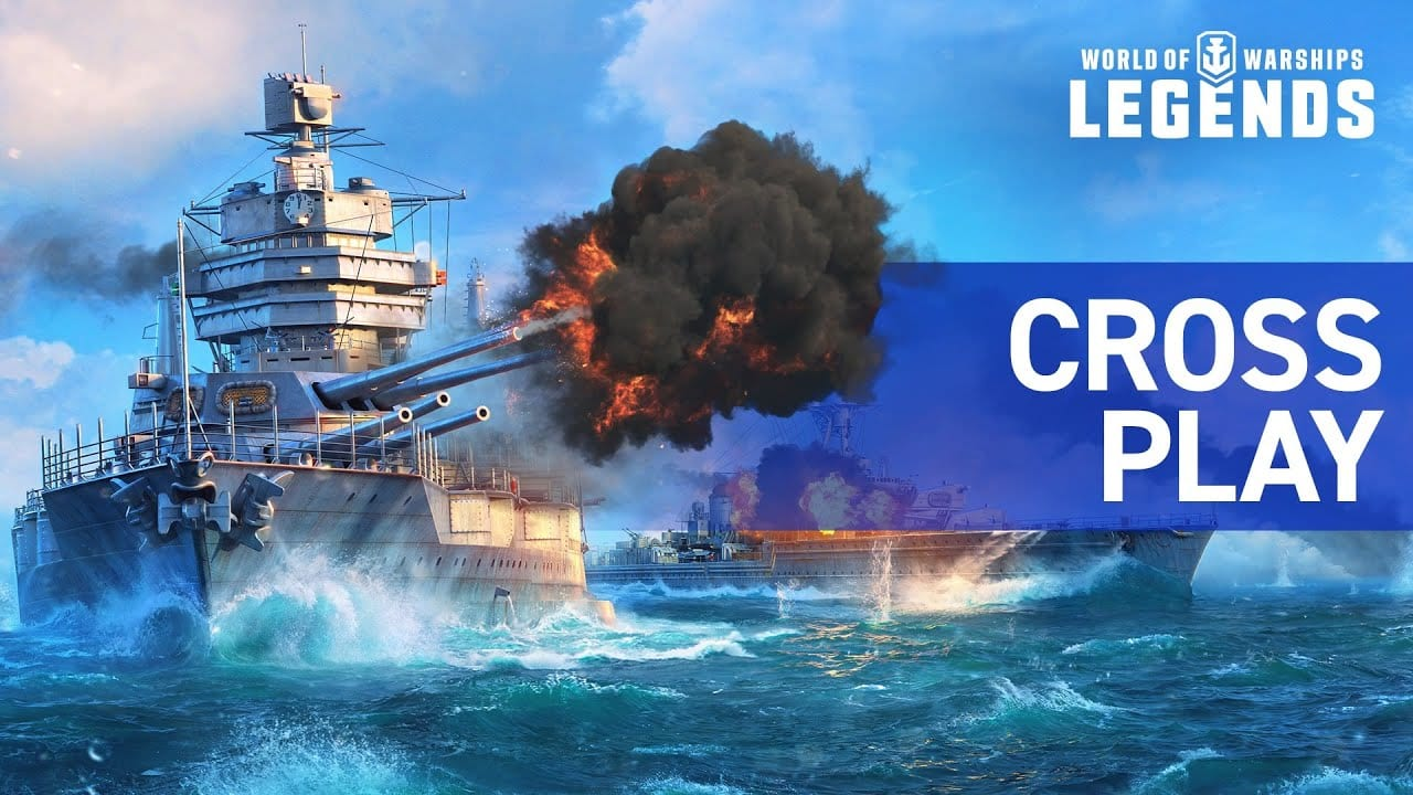 cross play, cross-platform play, legends, world of warships