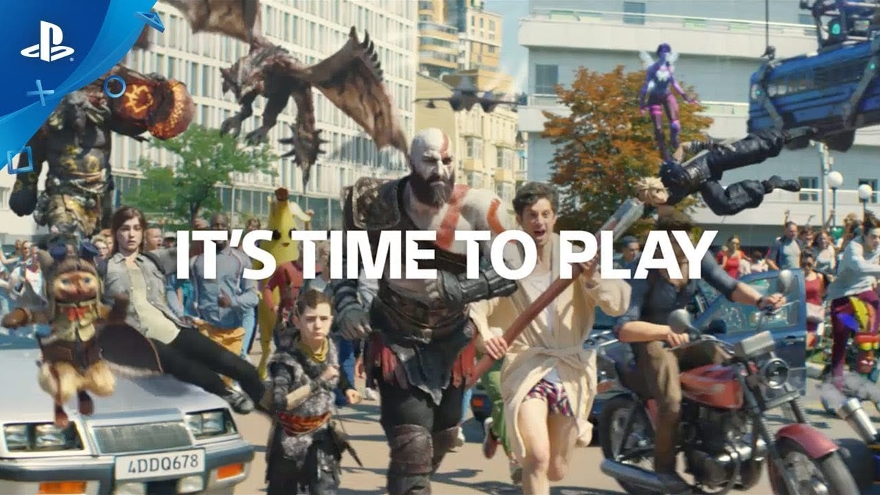 playstation, sony, ps4, commercial, advert