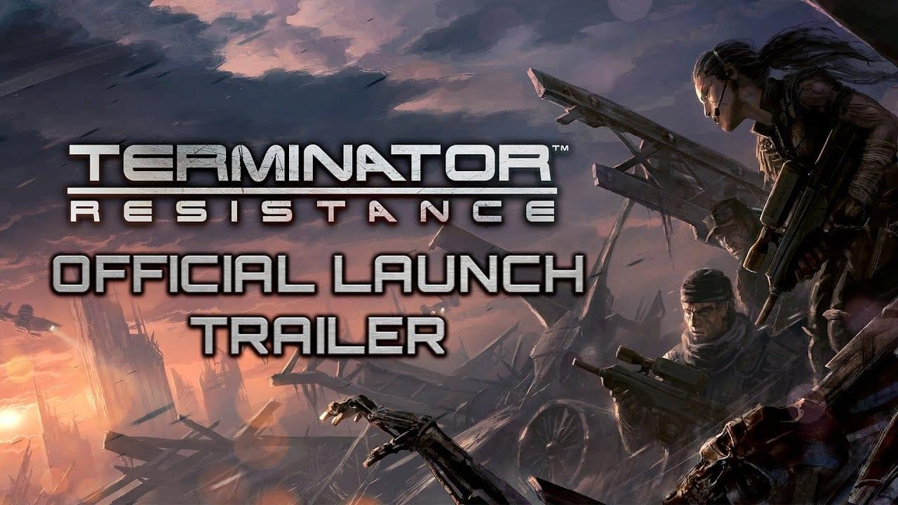 terminator, resistance, launch trailer