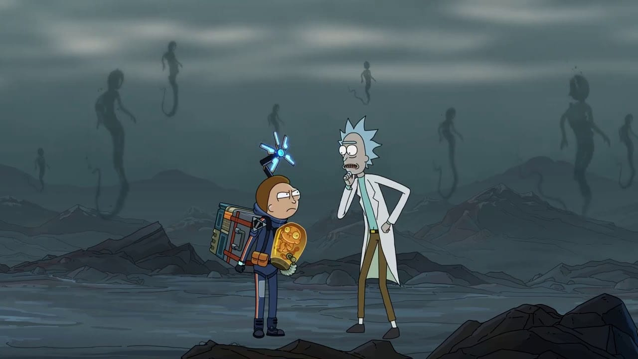 rick and morty, death stranding