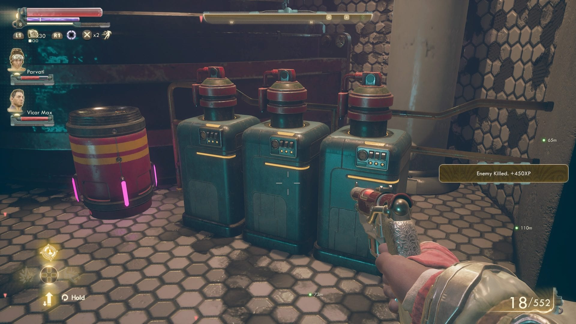 The Outer Worlds, How to Get Sedative Gas Canister and What it's Used For