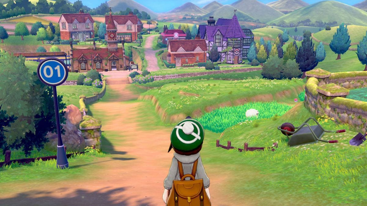 pokemon sword and shield motion controls