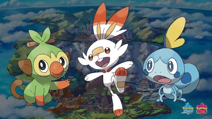 pokemon sword shield starter evolution levels