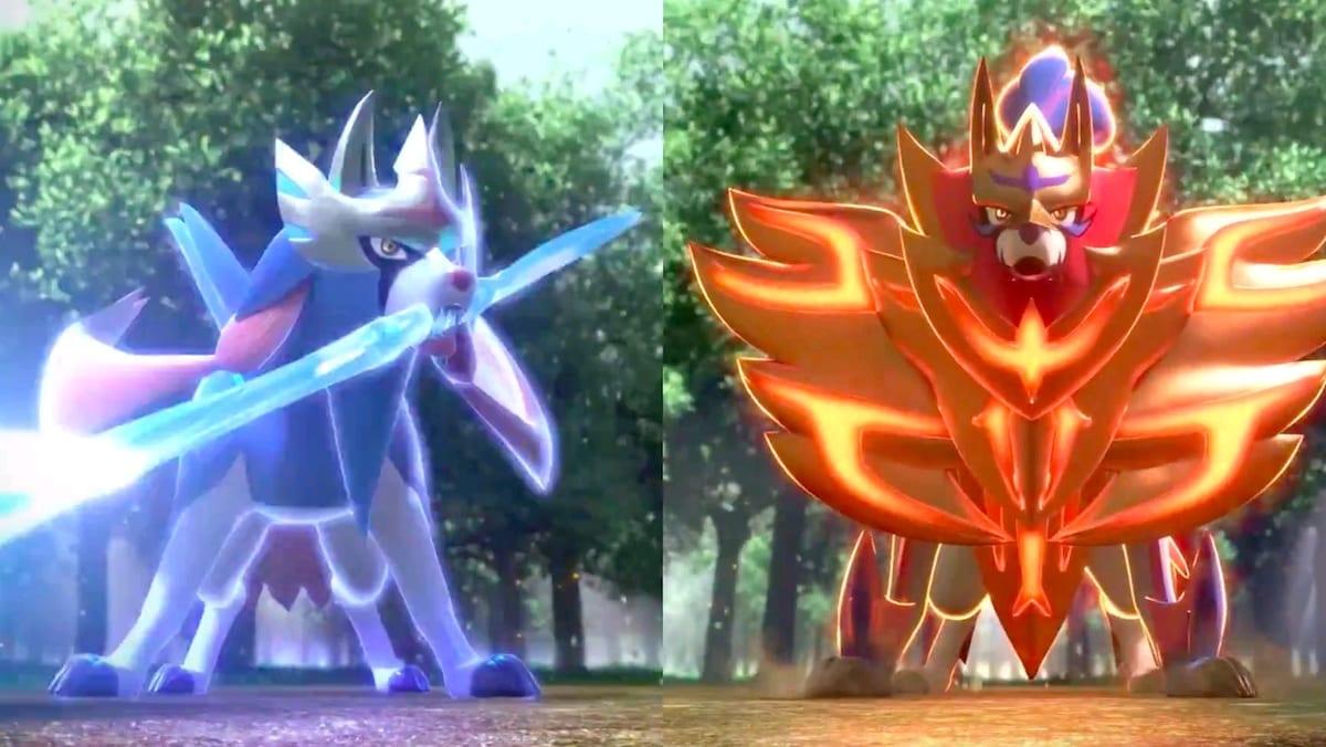 pokemon, sword and shield