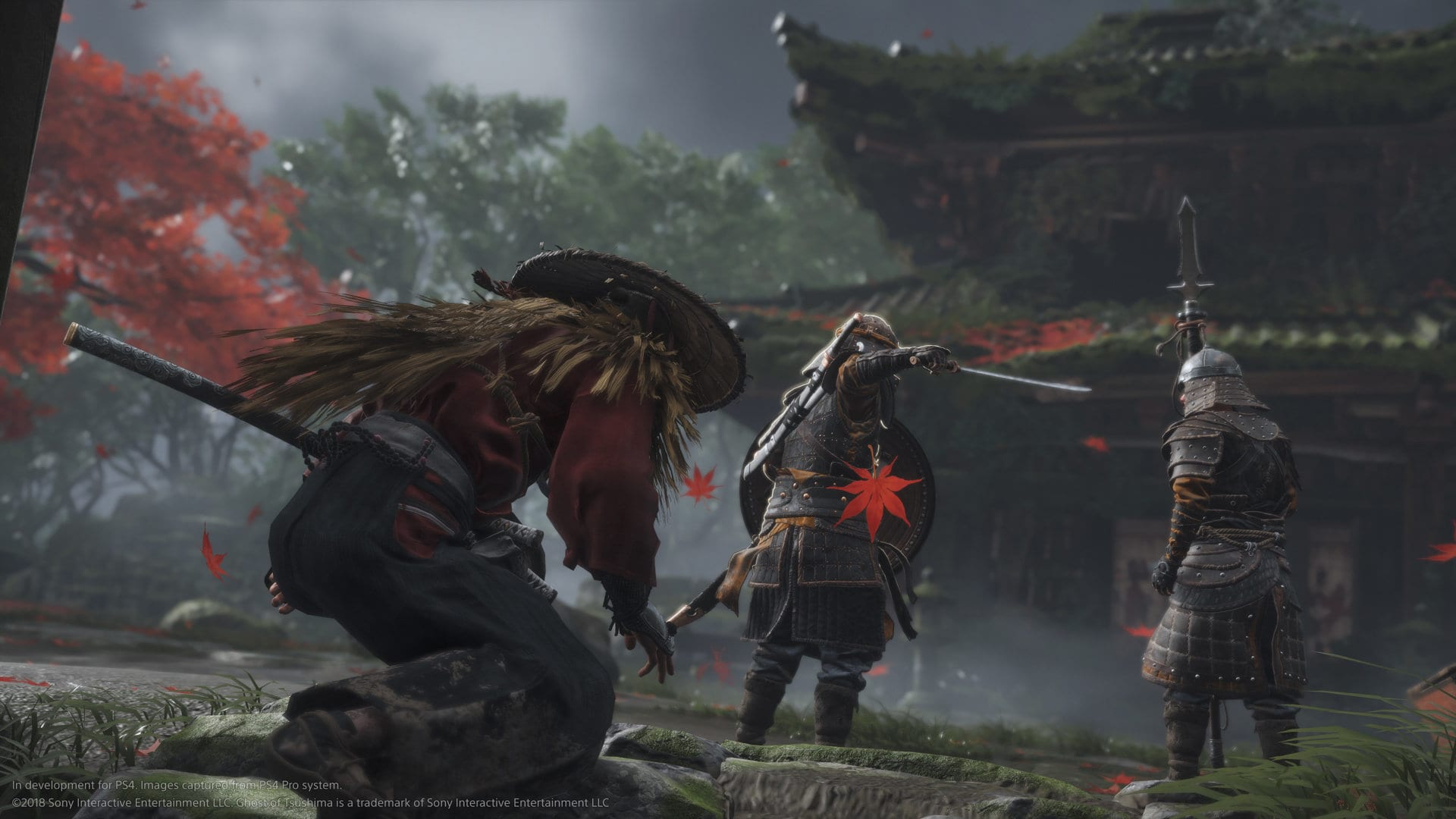 ghost of tsushima, the game awards, trailer