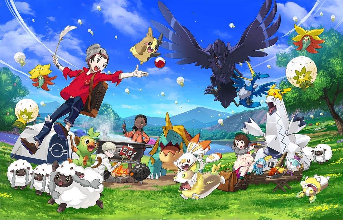 pokemon sword & Shield, togedemaru