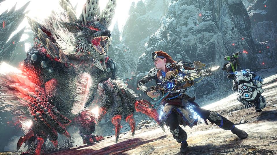 Monster Hunter Horizon Zero Dawn