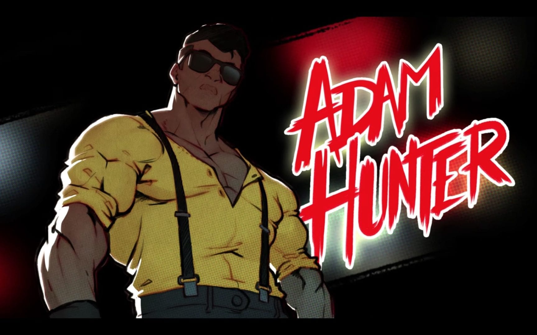 Streets of Rage 4 Adam Hunter