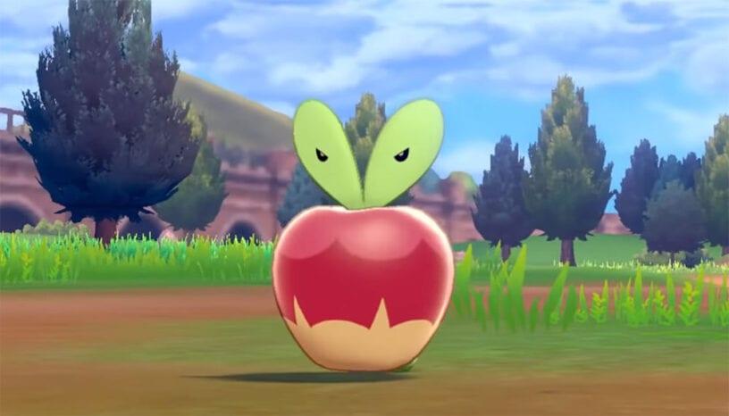 pokemon, applin, dragon