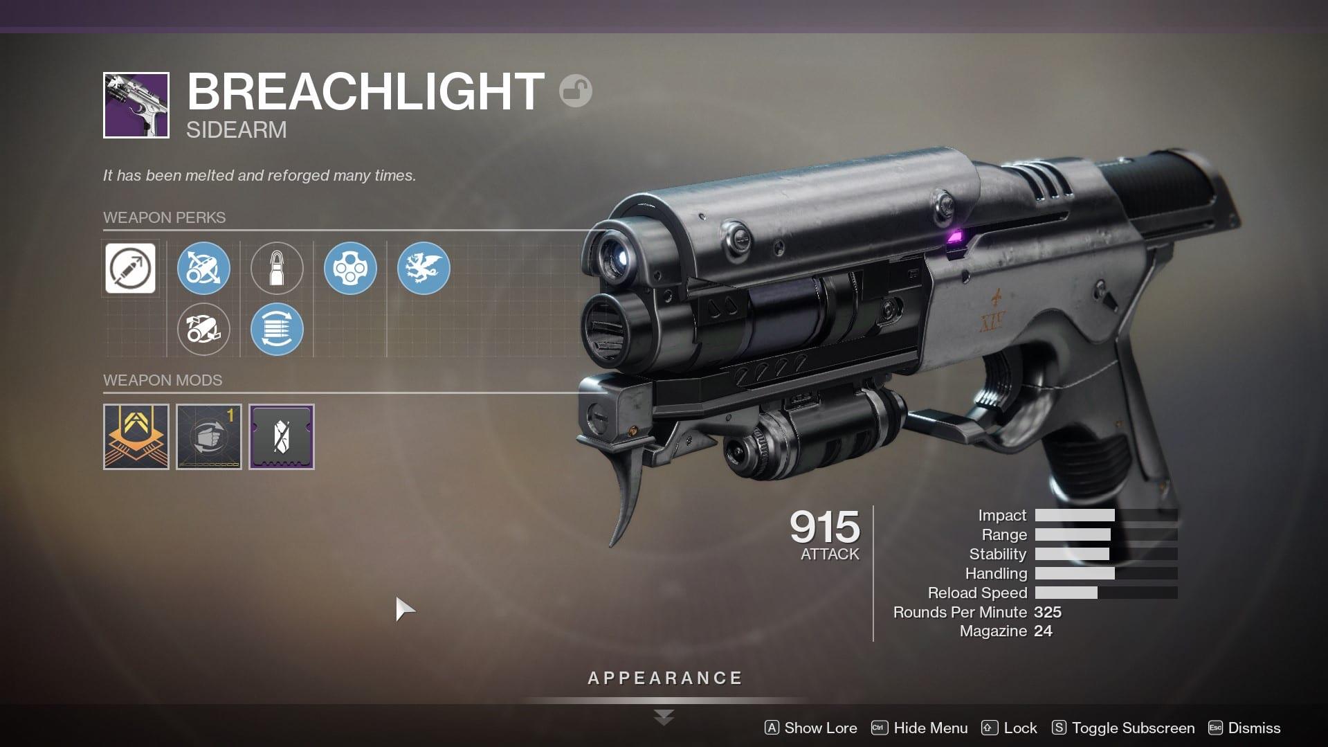 destiny 2, breachlight