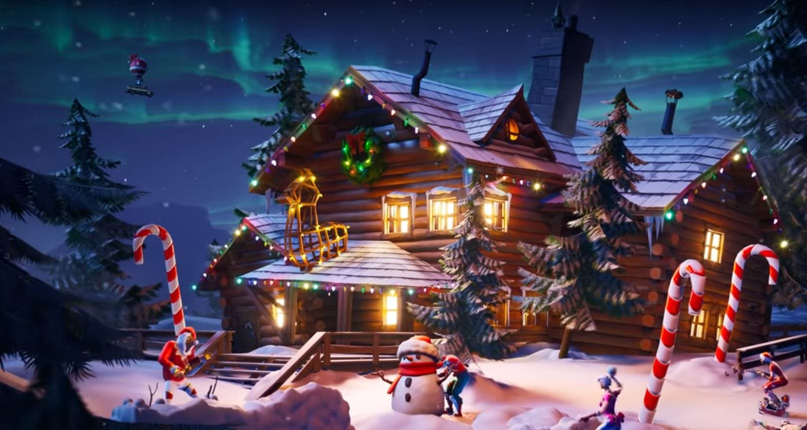 fortnite winterfest challenges