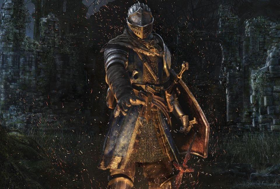 Dark Souls Boss Waffen