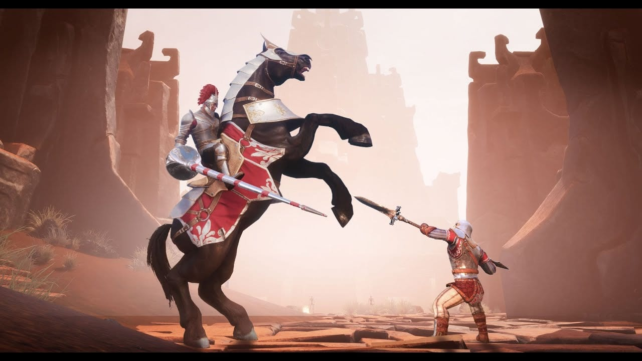 conan exiles, riders of hyboria