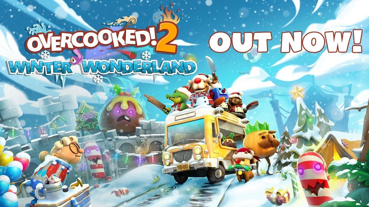 overcooked 2, winter wonderland