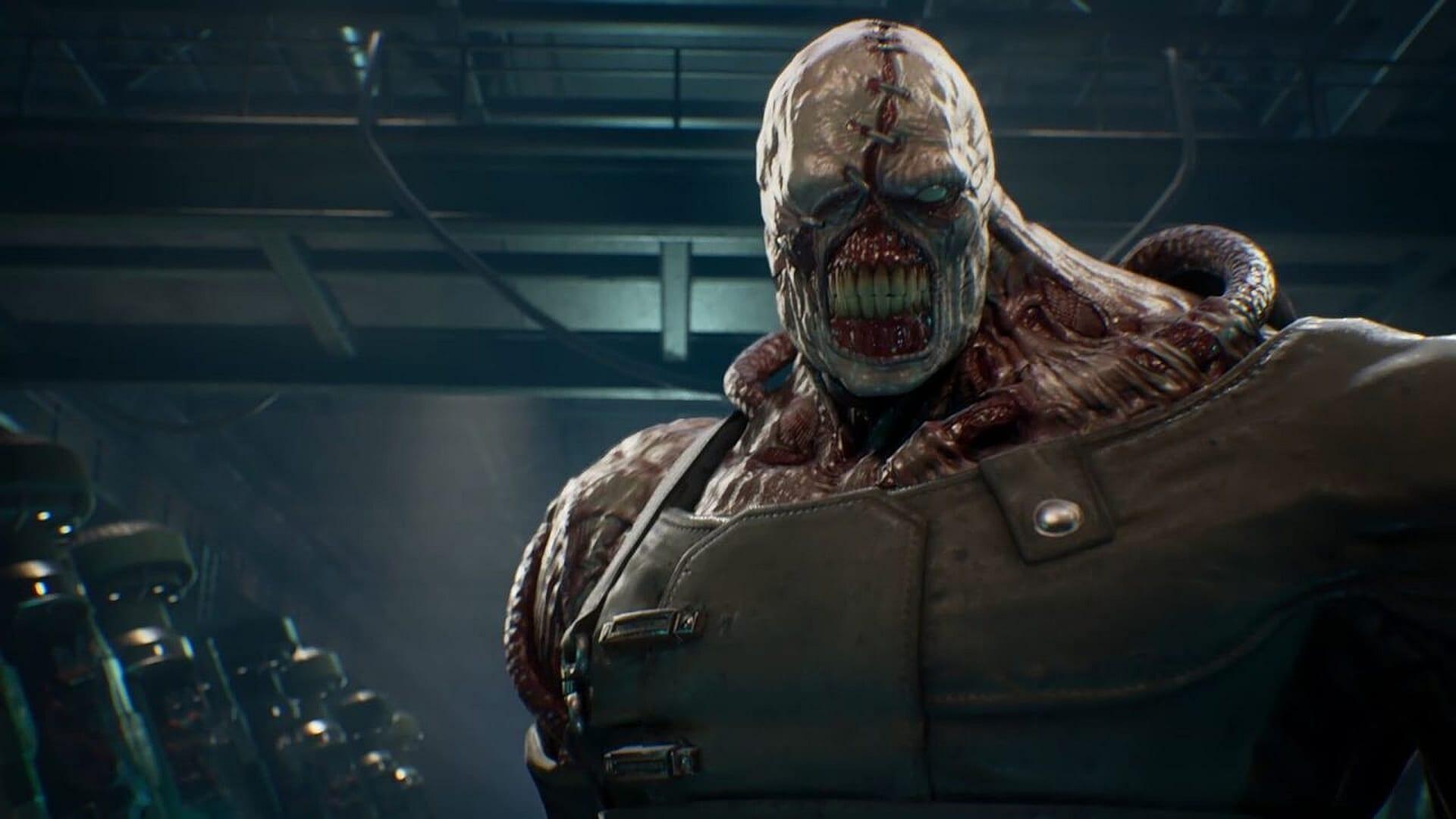 nemesis, resident evil 2, RPD demo