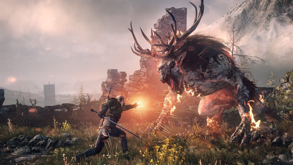 witcher 3, correct play lines, all play lines, the play's the thing