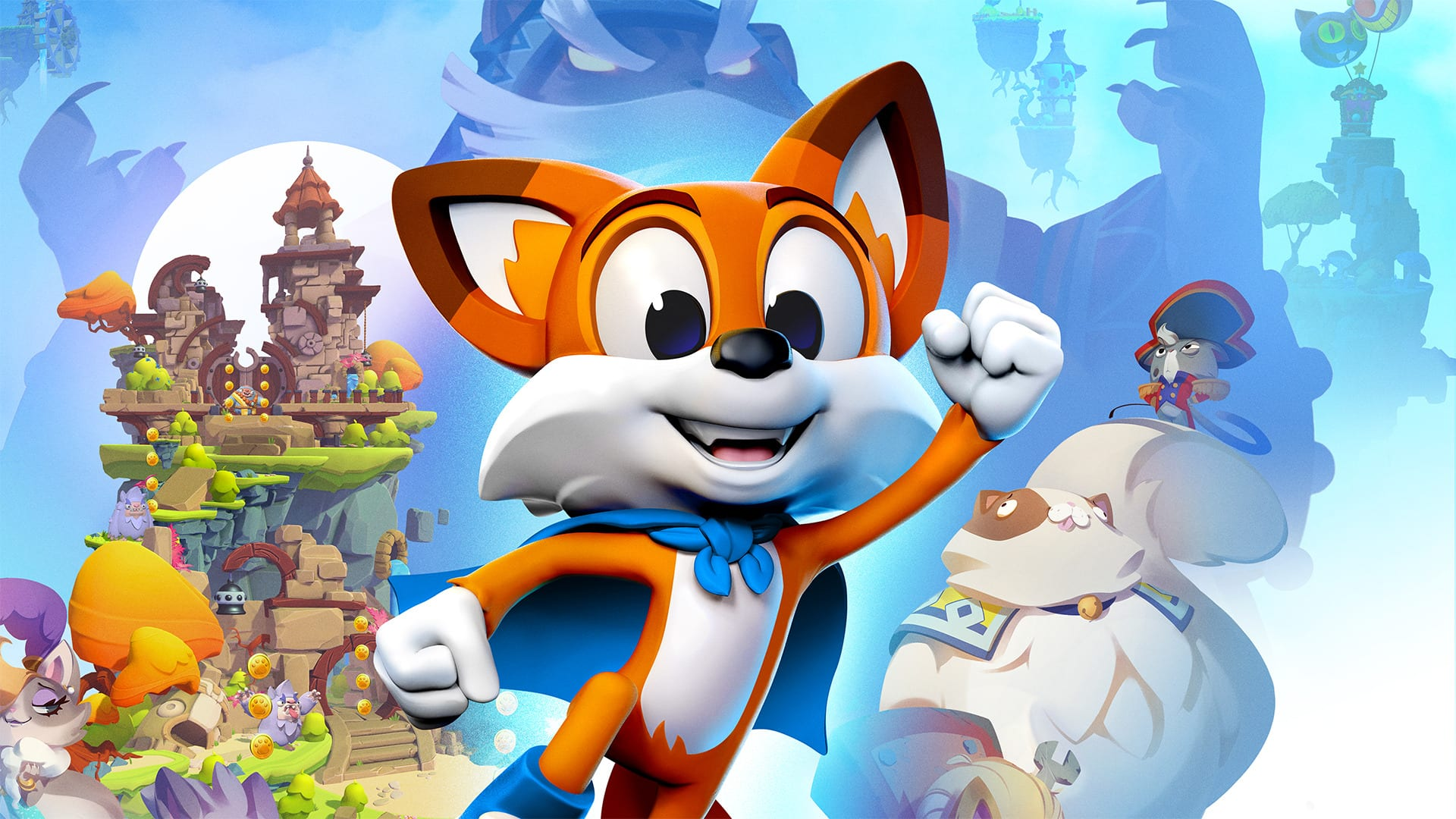 super lucky's tale, playful