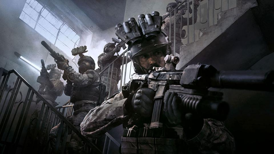 uk video game sales, cod, modern warfare