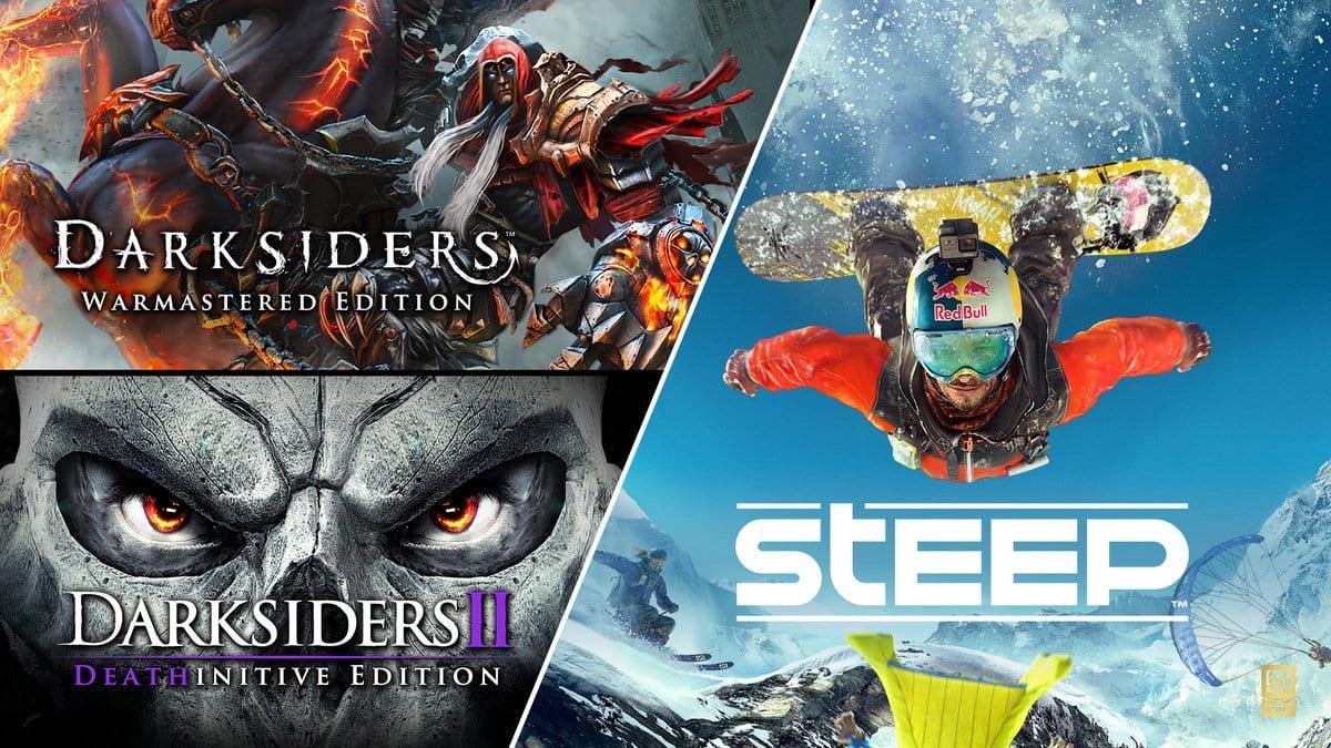 Epic Games Store Free Darksiders Steep