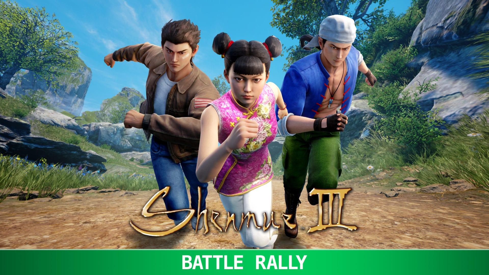 battle rally, Shenmue III