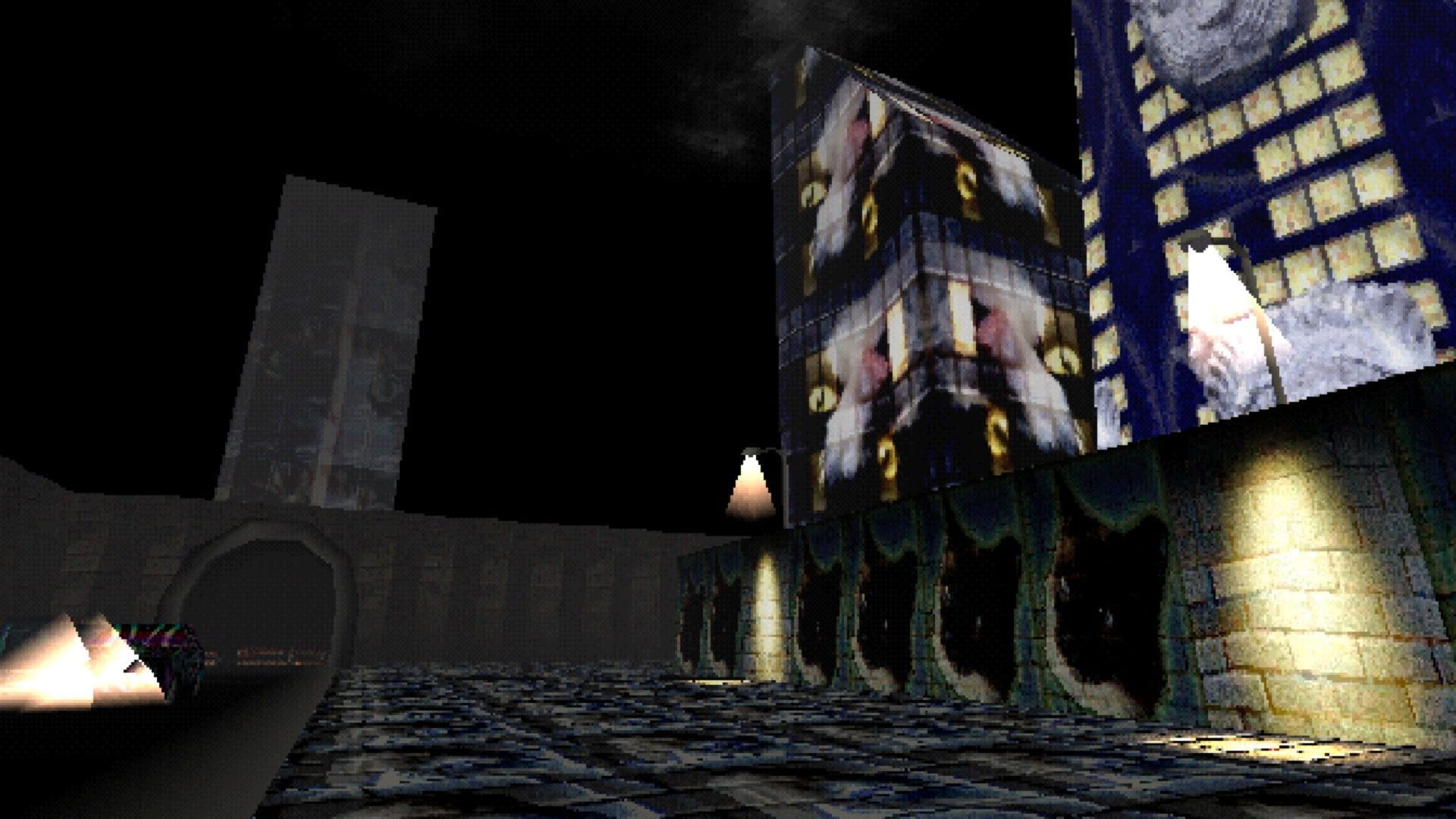 haunted ps1, demo, itch.io