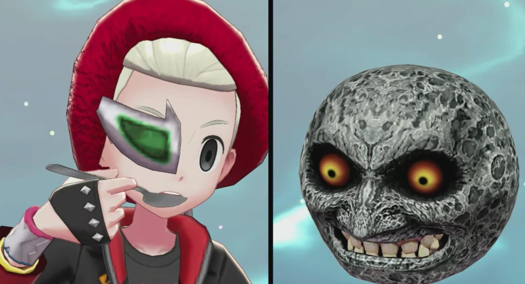 majora's mask, pokemon sword and shield