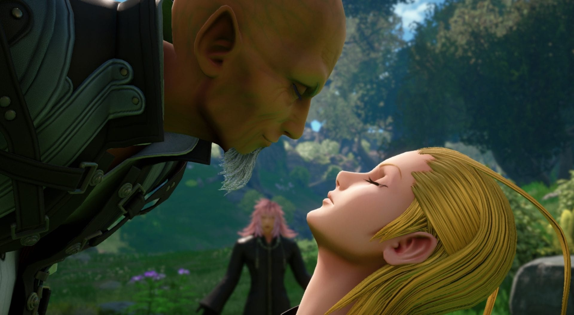 kingdom hearts 3 remind dlc, data greeting feature, photo mode