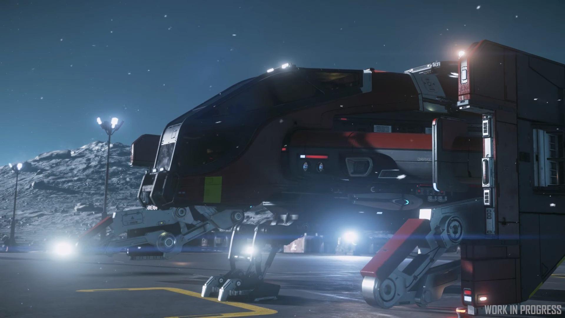 Star Citizen Drake Cutlass Red