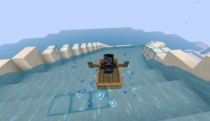 minecraft, water slide