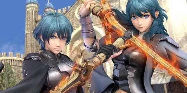 super smash bros ultimate, smash bros ultimate, byleth, challenger