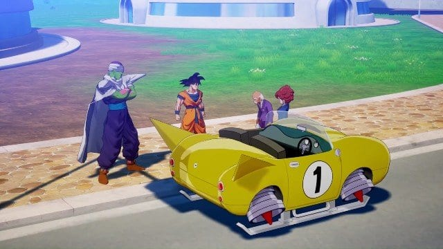 Dragon Ball Z: Kakarot, How to Get a Car