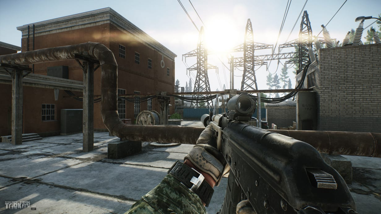 escape from tarkov, show fps