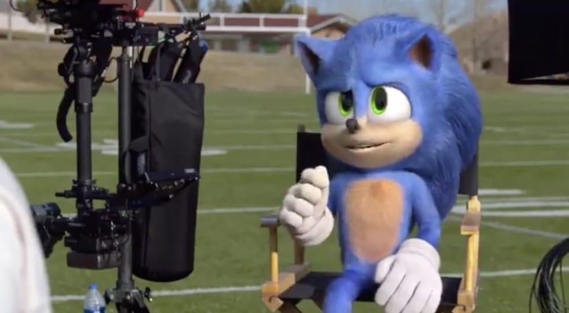 Sonic the Hedgehog movie, Super Bowl 54 ad