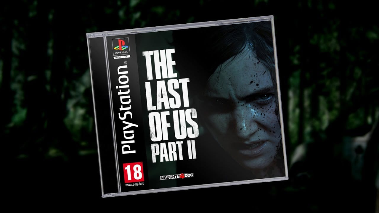 the last of us part ii demake, dreams, ps1 game