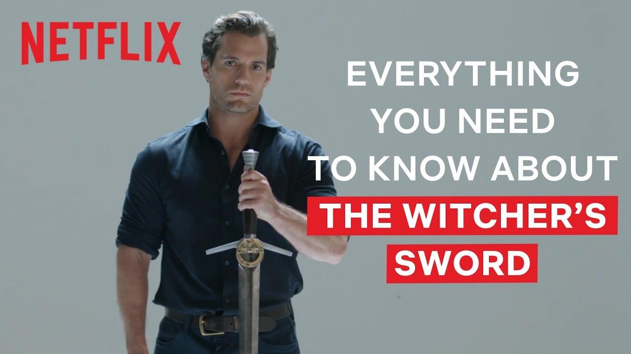 witcher, geralt, swords, cavill