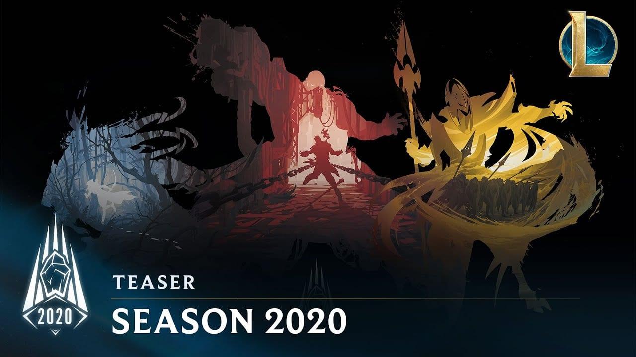 league of legends, season 2020