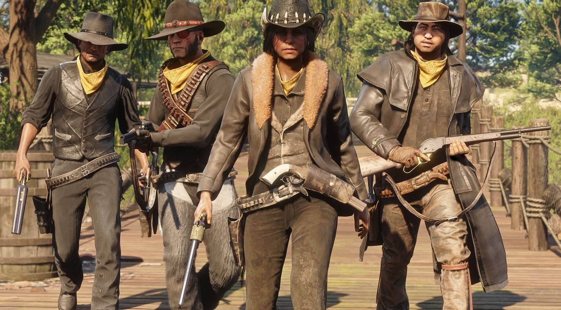 Red Dead Online, Rockstar Celebrates Record Player Numbers